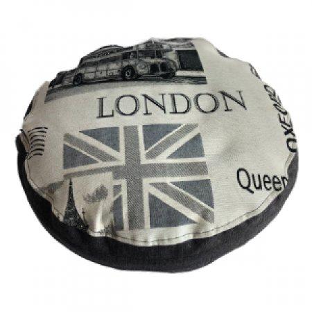 London zászló babzsák ülőpárna, bútorszövet