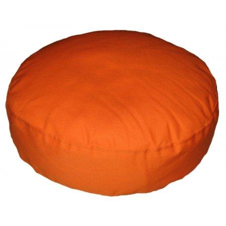 Ülőpárna, narancssárga pamutvászon