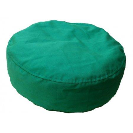 Ülőpárna, zöld pamutvászon