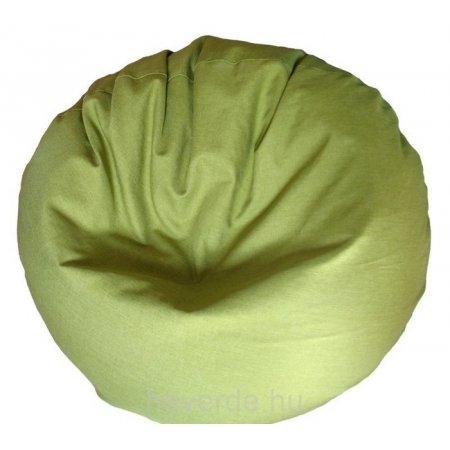 Fánk babzsák, lime zöld