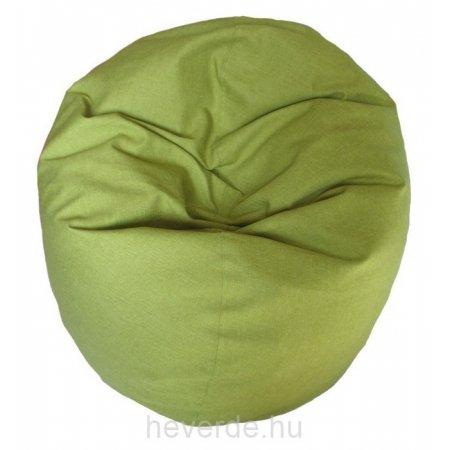 Lime zöld, fánk formájú babzsák.