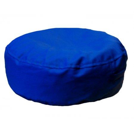 Ülőpárna, kék pamutvászon