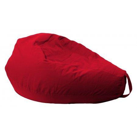Csepp alakú nagy babzsákfotel, piros