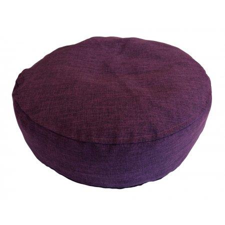 Ülőpárna, padlizsán lila bútorszövet