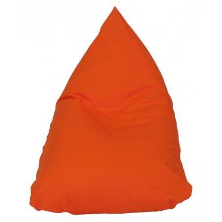Heverésző babzsák gyerekeknek, narancssárga