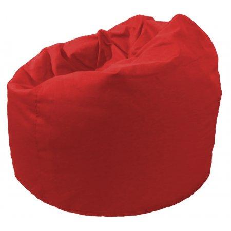 Klasszikus babzsákfotel, piros