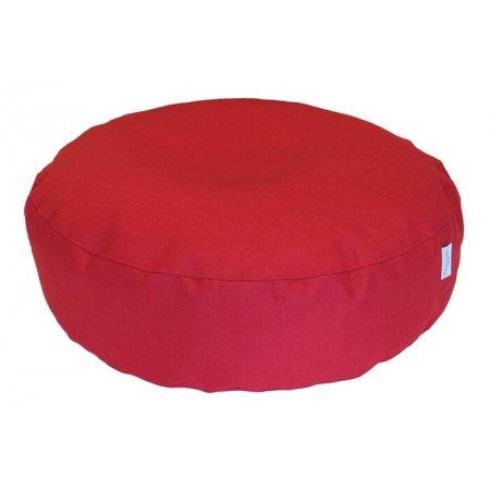 Nagy padlópárna, piros bútorszövet