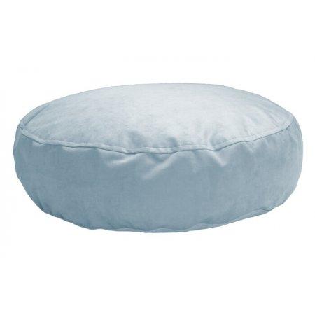 Nagy padlópárna, hamvas kék mikroplüss