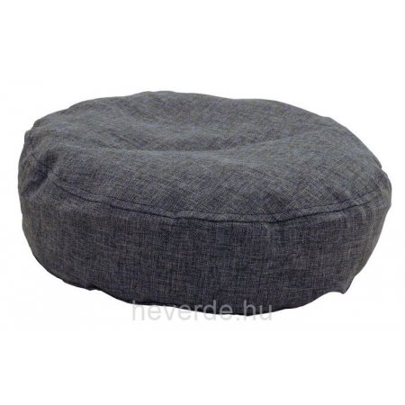 Ülőpárna, sötétszürke bútorszövet