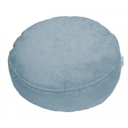 Ülőpárna, hamvas kék mikroplüss