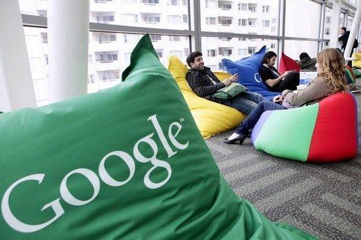 babzsákok a google irodában 1