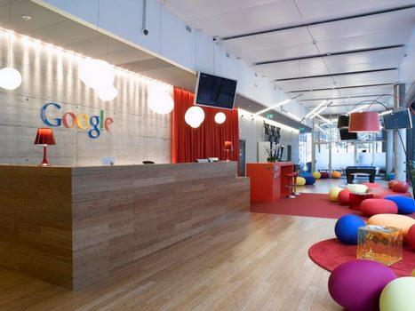 babzsákok a google irodában