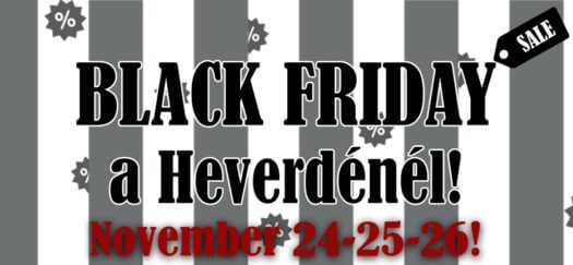 Black Friday a Heverdénél