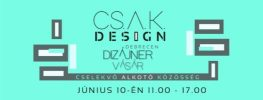 CSAK Design debreceni dizájn vásár logo