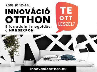 Otthon Design Ősz kiállítás október 12-14 - Innováció Otthon stand