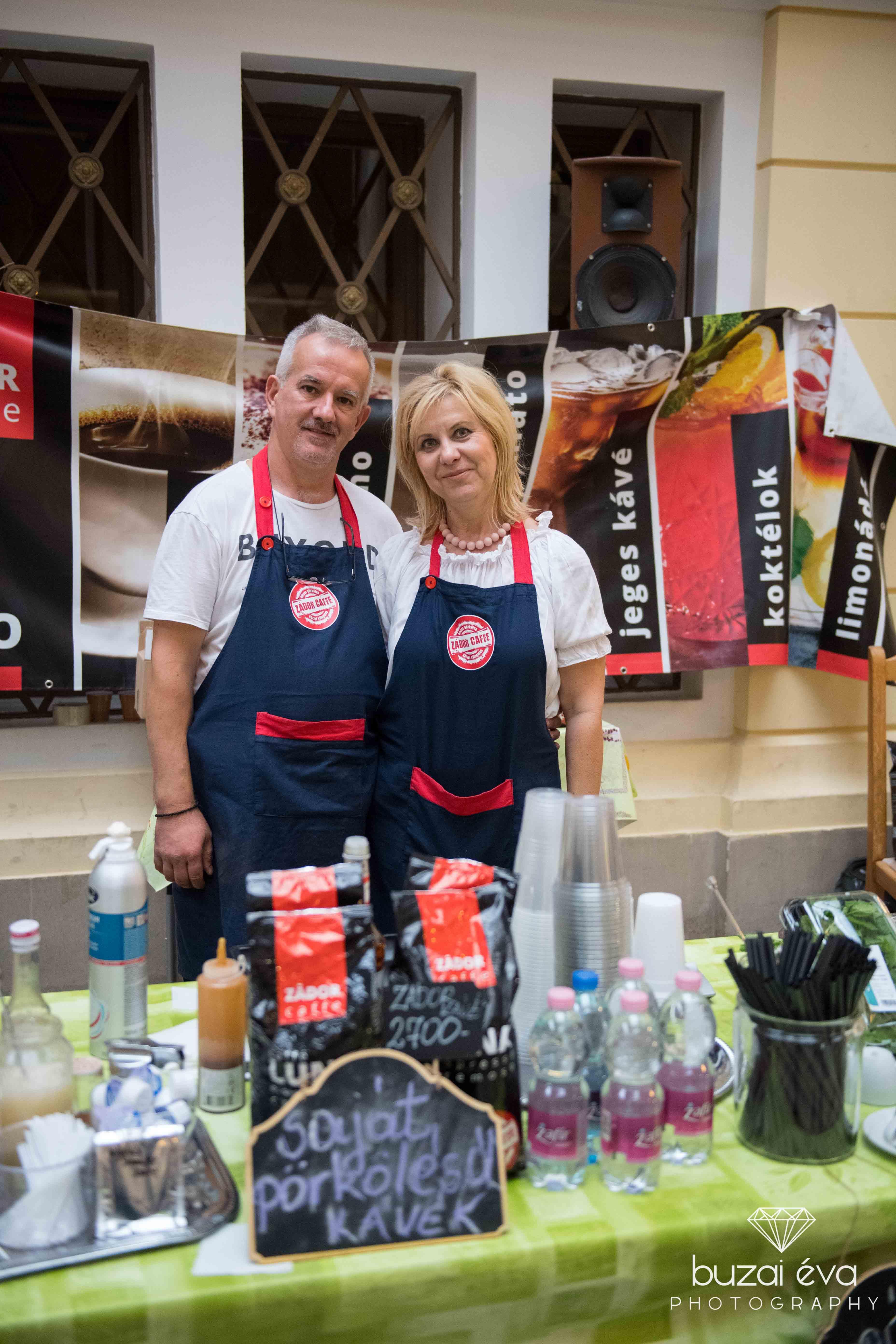 Zádorék (Zádor Café) saját pörkölésű kávéikkal a CSAK Design vásáron