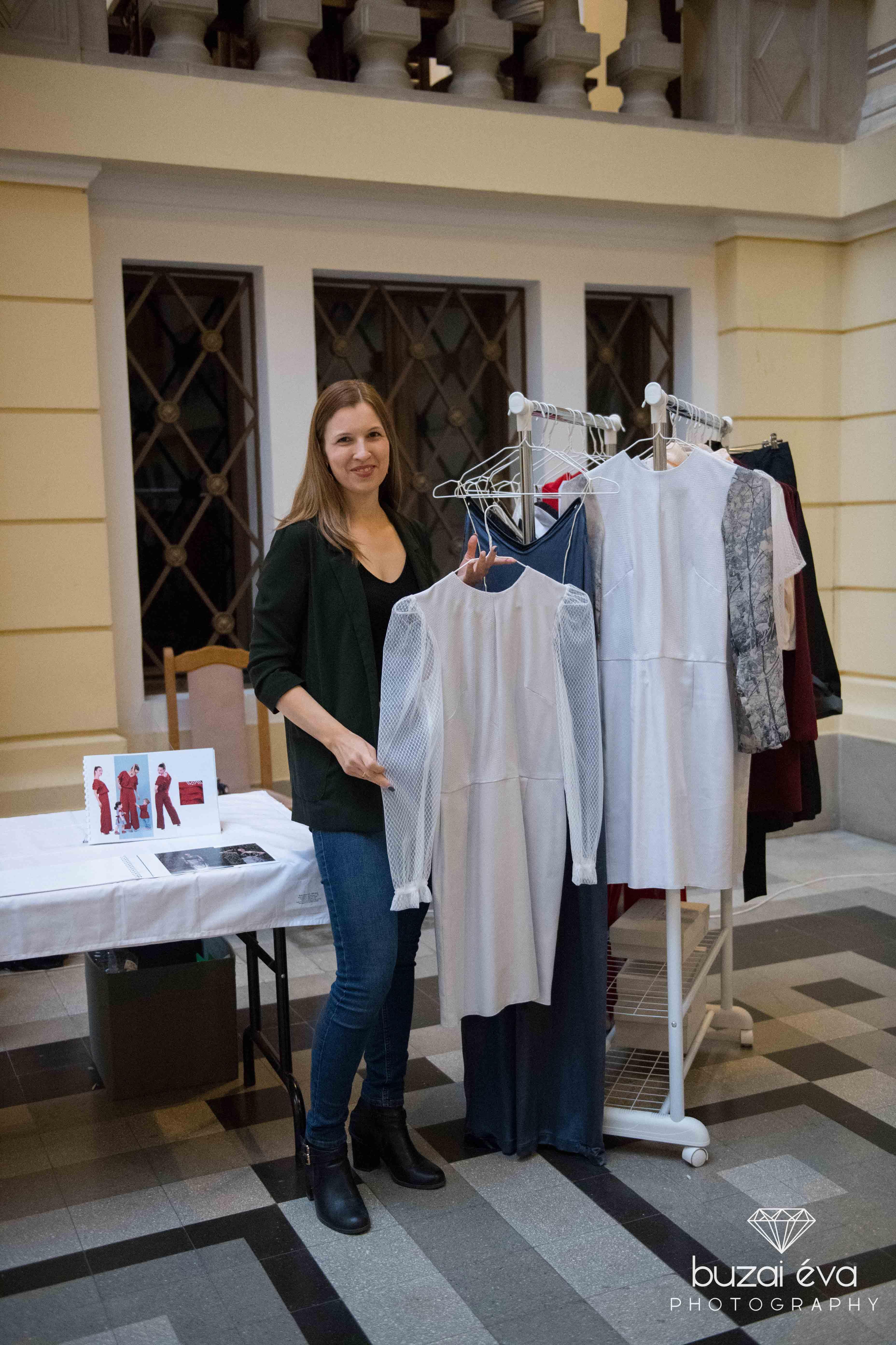 Dóri (WeAll) szépséges ruháival a CSAK Design vásáron
